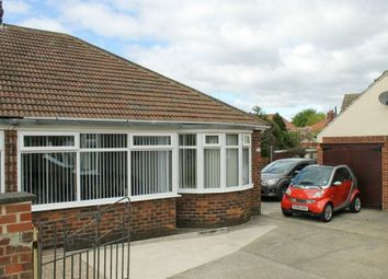 Thumbnail 2 bed semi-detached bungalow for sale in Carmel Gardens, Guisborough