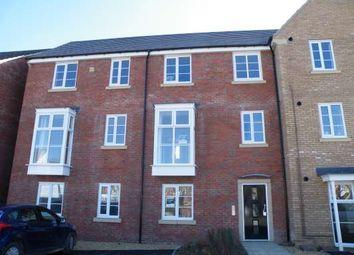 Thumbnail 2 bed flat to rent in Molyneux Square, Hamptonvale, Peterborough
