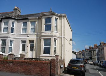 Thumbnail 4 bedroom end terrace house for sale in Weston Park Road, Peverell, Plymouth