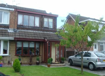 Thumbnail 3 bed semi-detached house to rent in Stanley Drive, Leigh, Lancashire