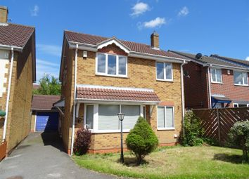 Thumbnail 4 bedroom detached house for sale in Exmoor Close, Ellistown, Leicestershire