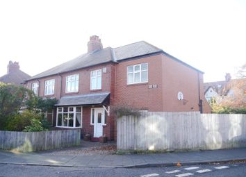 Thumbnail 4 bed semi-detached house for sale in Extended Family House Dene View, Gosforth, Newcastle Upon Tyne
