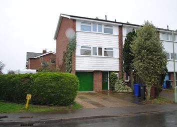 Thumbnail 3 bed town house to rent in Fielden Way, Newmarket