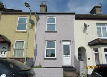 Thumbnail 2 bed terraced house to rent in Kent Road, Lowestoft