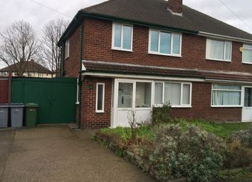 Thumbnail 3 bed semi-detached house to rent in Ravenhill Crescent, Leasowe, Wirral