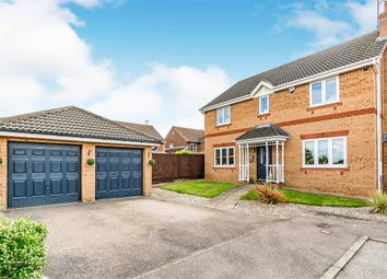 Thumbnail 4 bed detached house for sale in Fosse Close, Wellingborough