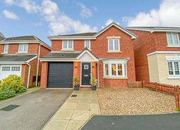 Thumbnail 4 bed detached house for sale in The Sidings, Blackhall Colliery, Hartlepool