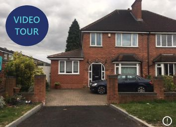 Thumbnail 5 bed semi-detached house for sale in Reddicap Heath Road, Sutton Coldfield