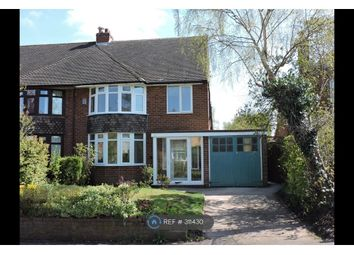 Thumbnail 3 bed semi-detached house to rent in Christchurch Avenue, Lichfield