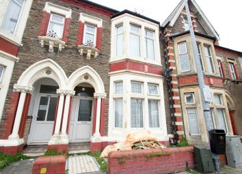 Thumbnail 4 bed terraced house for sale in Albany Road, Roath, Cardiff