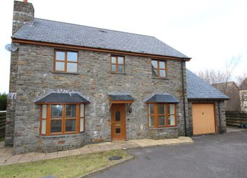 Thumbnail 4 bed detached house for sale in Cae Coedmore, Cwmann, Lampeter