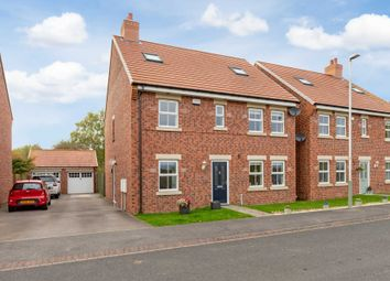 Thumbnail 5 bed detached house for sale in Merrybent Drive, Merrybent, Darlington