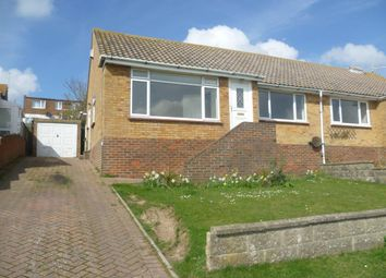 Thumbnail 2 bed semi-detached bungalow to rent in Saltdean, East Sussex