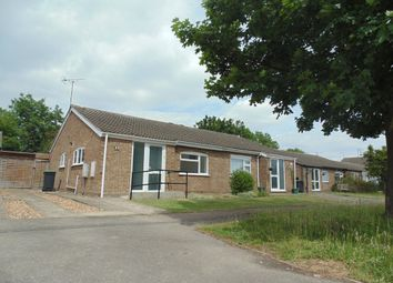 Thumbnail 2 bed semi-detached bungalow to rent in Welland Close, Raunds, Wellingborough