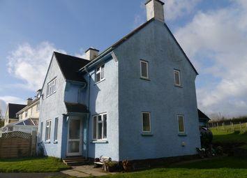 Thumbnail 3 bed end terrace house for sale in Brayford, Barnstaple