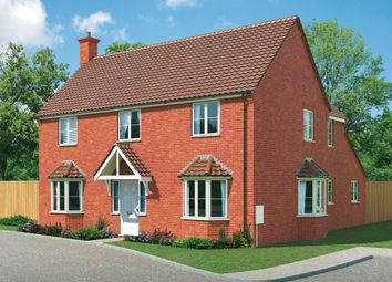 "Thumbnail 4 bed detached house for sale in ""The Burford"" at West Hill Road, Retford"