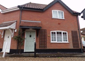 Thumbnail 1 bed property to rent in Damgate Street, Wymondham