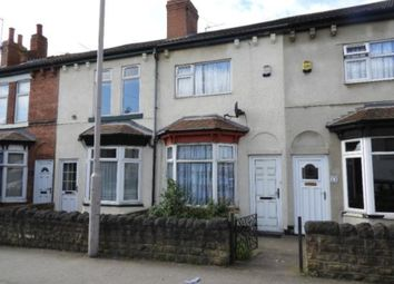 Thumbnail 2 bed terraced house for sale in Yorke Street, Mansfield Woodhouse, Mansfield
