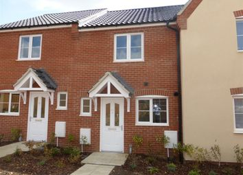 Thumbnail 2 bed terraced house to rent in Long Meadow Drive, Roydon, Diss
