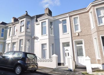 Thumbnail 3 bed terraced house for sale in West Hill Road, Mutley, Plymouth