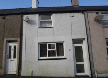 Thumbnail 2 bed terraced house for sale in 61 Rhedyw Road, Llanllyfni, Llanllyfni