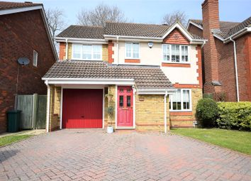 Thumbnail 4 bed detached house for sale in Montague Close, Wokingham, Berkshire