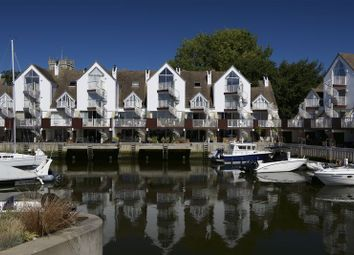 Thumbnail 4 bed town house for sale in Priory Quay, Quay Road, Christchurch
