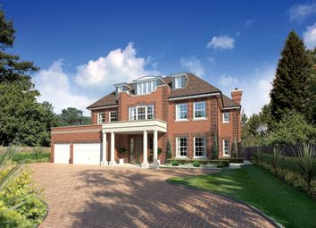 Thumbnail 7 bedroom detached house for sale in Fairbourne, Cobham