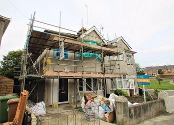 Thumbnail 3 bed semi-detached house for sale in Furneaux Villas, Milehouse, Plymouth, Devon