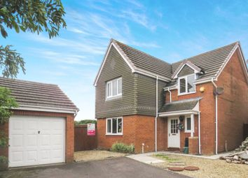 Thumbnail 4 bedroom detached house for sale in Lon Fferm Felin, Barry