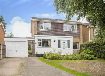 Thumbnail 3 bed detached house for sale in Silverwood Avenue, Ravenshead, Nottingham
