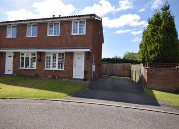 Thumbnail 2 bedroom semi-detached house for sale in Kiddlington Close, Lostock Hall, Preston, Lancashire