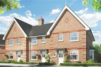 Thumbnail 3 bedroom detached house for sale in Cutbush Lane, Shinfield