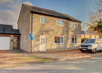 Thumbnail 4 bed detached house for sale in Station Road, Thorney, Peterborough