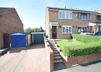 Thumbnail 3 bed semi-detached house for sale in Dorel Close, Luton
