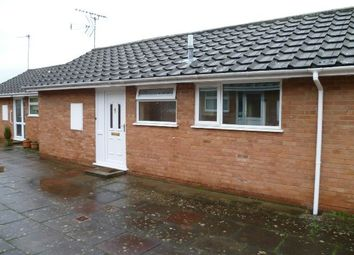 Thumbnail 2 bed terraced bungalow to rent in Queens Court, Ledbury, Herefordshire