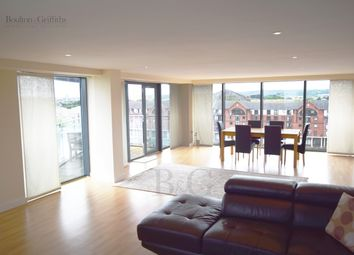 Thumbnail 2 bedroom flat to rent in City Wharf, Cardiff