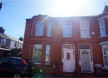 Thumbnail 4 bed end terrace house for sale in Cromer Road, Liverpool