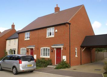 Thumbnail 3 bed semi-detached house to rent in Orchard Close, Upper Arncott, Bicester