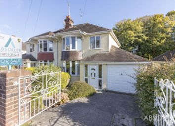 Thumbnail 3 bed semi-detached house for sale in Summerfield Road, Torquay