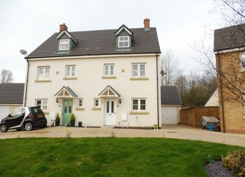 Thumbnail 4 bed town house for sale in Ffordd Y Grug, Coity, Bridgend