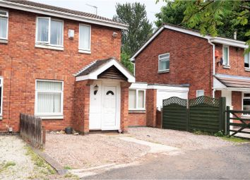 Thumbnail 2 bed semi-detached house for sale in Boscobel Close, Stirchley Telford