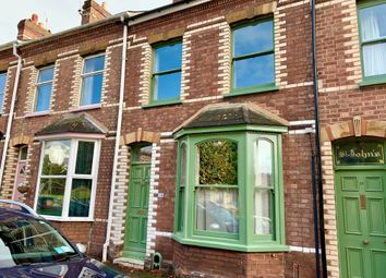 Thumbnail 2 bed terraced house to rent in Temple Road, St. Leonards, Exeter