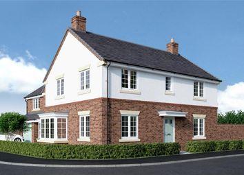 "Thumbnail 4 bed detached house for sale in ""Stevenson"" at Back Lane, Somerford"