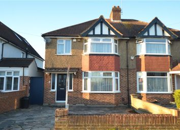 Thumbnail 3 bed semi-detached house for sale in Sunningdale Avenue, Ruislip, Middlesex