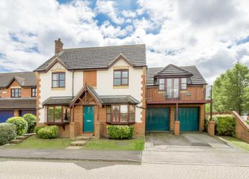 Thumbnail 5 bed detached house for sale in Leonardslee, Westcroft, Milton Keynes