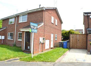 Thumbnail 1 bed flat to rent in Derrington Leys, Alvaston, Derby