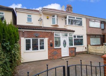 Thumbnail 4 bed semi-detached house for sale in Bowring Park Avenue, Liverpool