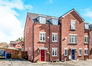 Thumbnail 4 bed terraced house for sale in Heathlea Gardens, Hindley Green, Wigan