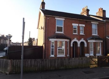 Thumbnail 2 bedroom end terrace house for sale in Ipswich, Suffolk